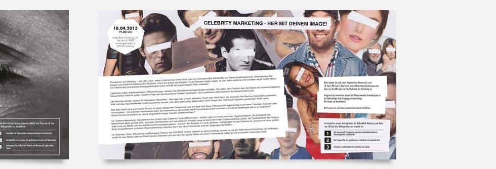 Melius: Einladungen für den Marketeer Club Europe e.V.